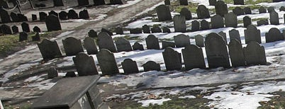 Granary Burying Ground is one of Revolutionary War Trip.