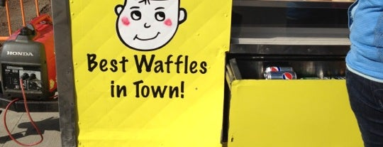 The Waffle Boy is one of Food Truck.