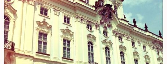 Národní galerie Praha | Šternberský palác is one of StorefrontSticker #4sqCities: Prague.