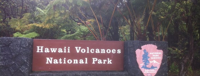 Hawai'i Volcanoes National Park is one of Hawai'i 4th of July.