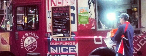 Rickshaw Dumpling Truck is one of NYC Food on Wheels.