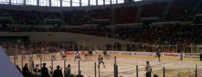 Veterans Memorial Coliseum is one of Big Matchs's Today!.