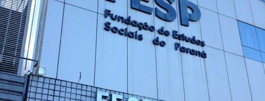 FESP - Faculdade de Educação Superior do Paraná is one of Lugares Que já dei check in!!!.