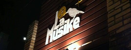La Musike is one of Bares, Petiscos e Diversão em SJC.