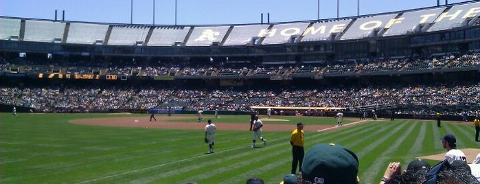Oakland-Alameda County Coliseum is one of NFL stadiums.