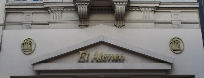 El Ateneo is one of Lugares guardados de Carlos.