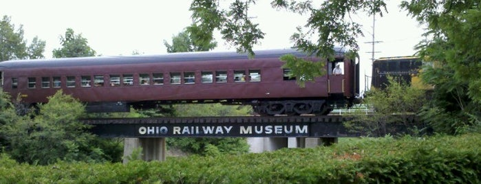 The Ohio Railway Museum is one of Columbus!.