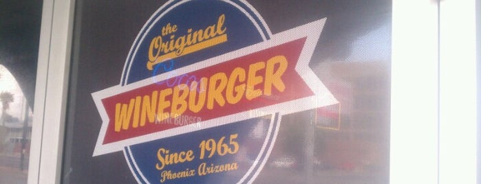 The Original Wineburger is one of PHX Burgers in The Valley.