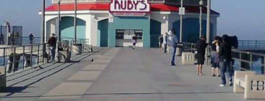 Ruby's Diner is one of La to sf.