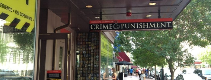 National Museum of Crime & Punishment is one of Things To Do In Virginia.