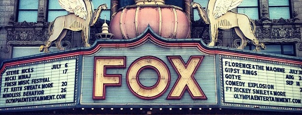 Fox Theatre is one of Detroit.