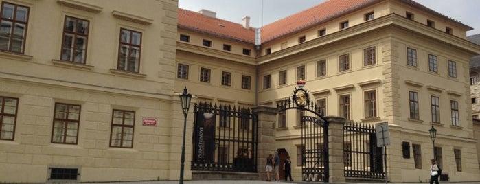 Nationalgalerie Prag | Palais Schwarzenberg is one of StorefrontSticker #4sqCities: Prague.