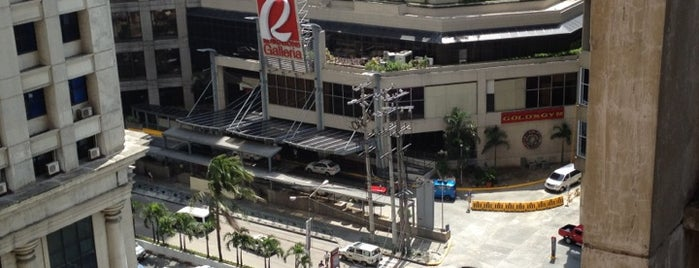 Robinsons Galleria is one of Follow-Me Spots.