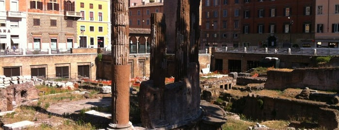 Largo di Torre Argentina is one of Locais curtidos por Carl.