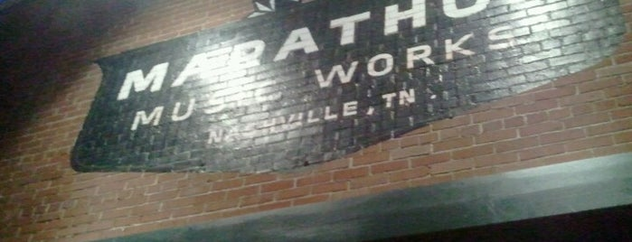 Marathon Music Works is one of Nashville.