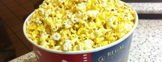 Regal UA East Hampton Cinema is one of Jason Fond.