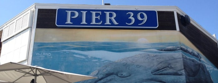 Pier 39 is one of San Francisco.