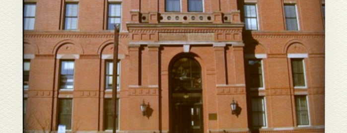 Peabody Museum of Archaeology and Ethnology is one of BOS.