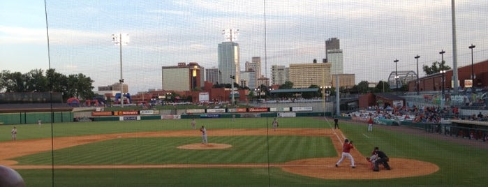 Dickey-Stephens Park is one of Minor League Ballparks.