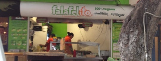 Falafelito is one of CdMx: Munch Vegano.
