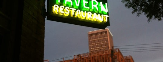 The Tavern is one of Tulsa.