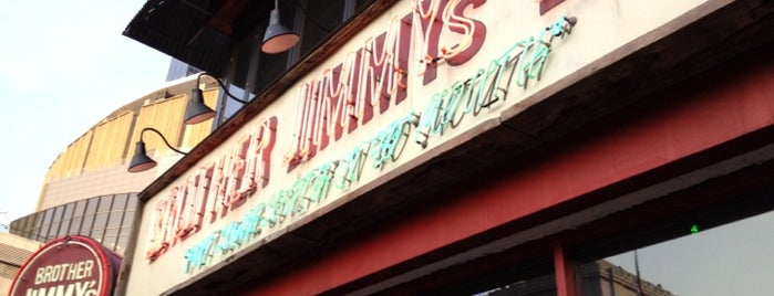 Brother Jimmy's BBQ is one of New York, New York.