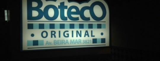 Boteco Original Beira Mar is one of Lugares favoritos de J..