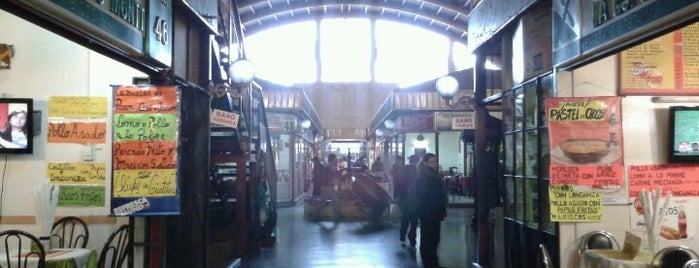 Mercado Municipal de Chillán is one of Tempat yang Disukai Fran!.