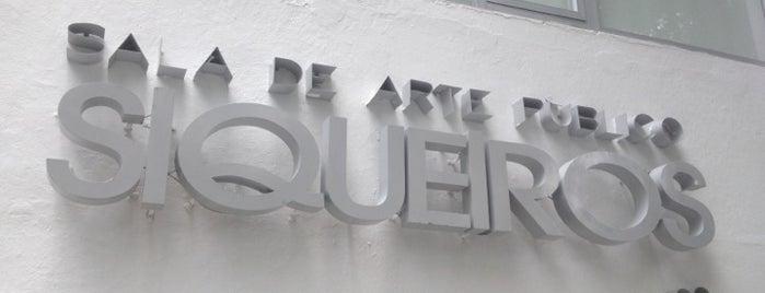 Museo Sala de Arte Público David Alfaro Siqueiros is one of Galerías y Museos @ DF.