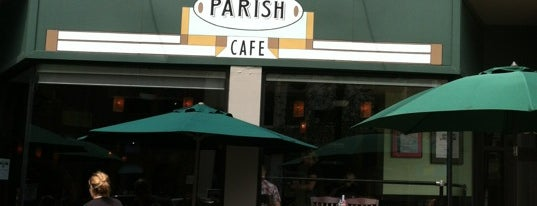 Parish Cafe & Bar is one of Restaurants.