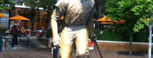 Frank Robinson sculpture by Toby Mendez is one of City Paper's :Baltimore Living: Readers Poll '12.