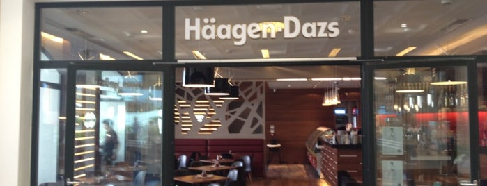 Häagen-Dazs is one of Locais curtidos por Kyriaki.