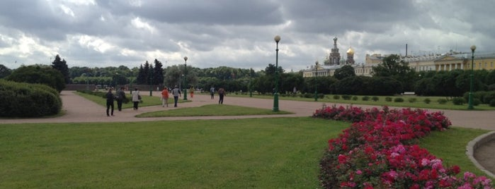 Field of Mars is one of St Petersburg.