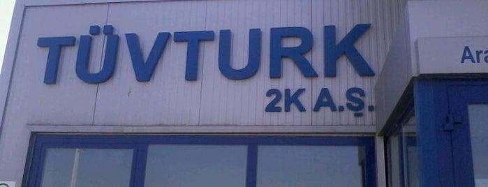 TÜVTÜRK Araç Muayene İstasyonu is one of Tempat yang Disukai Ferid.