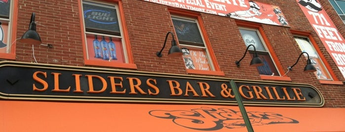 Sliders Bar & Grille is one of JODY & MY PLACES IN MD REISTERSTOWN, OWINGS MILLS,.
