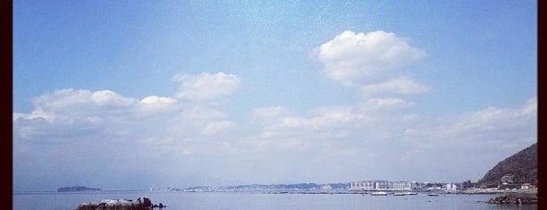 葉山 大浜海岸 is one of 日本の渚百選.