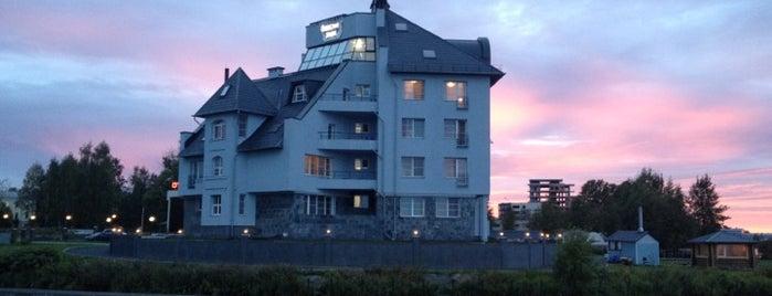 Onega Castle Hotel is one of Best list (Karelia).