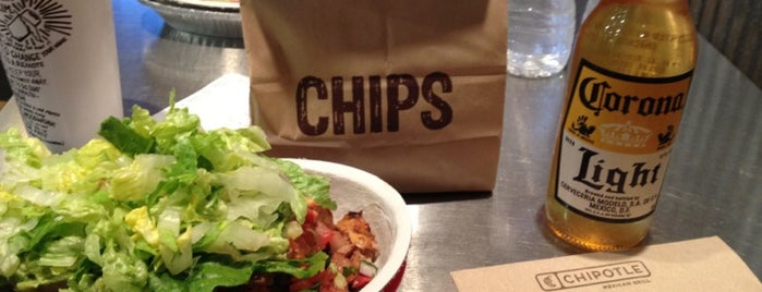 Chipotle Mexican Grill is one of Good eats.