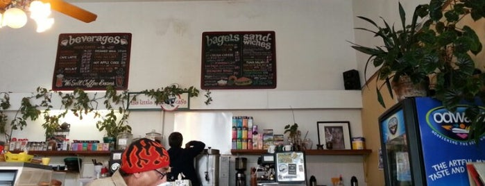 The Little Spot Cafe is one of Sf breakfast.