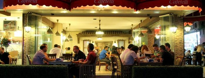 Cafetelli is one of Tempat yang Disukai Mevlüt🎬〽⌚🌇🚘💯✔.