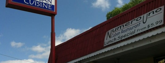 Numero Uno Cuban Cuisine is one of Business contacts.