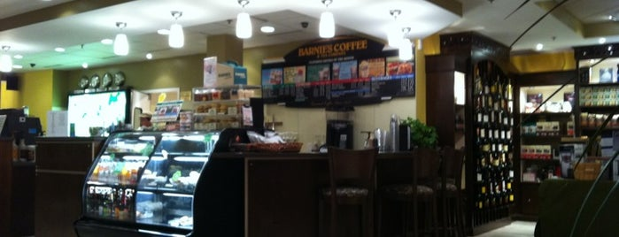 Barnie's Coffee & Tea Co. is one of Caitlin'in Beğendiği Mekanlar.