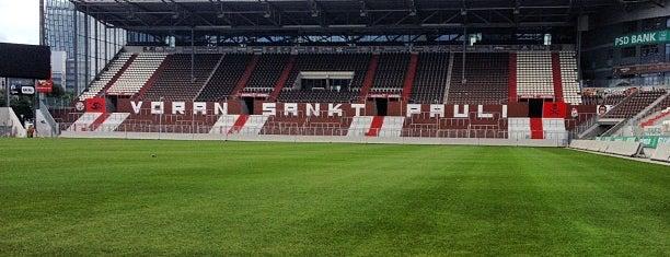 Millerntor-Stadion is one of StorefrontSticker #4sqCities: Hamburg.