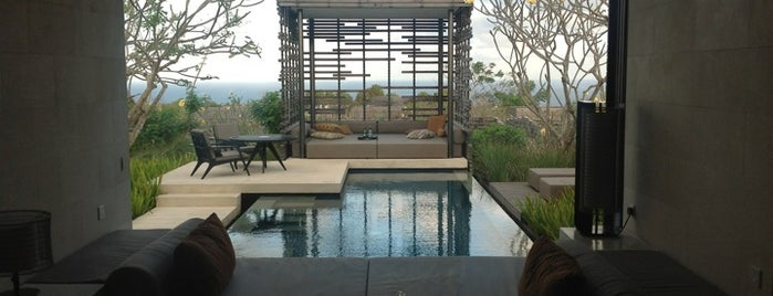 Alila Villas Uluwatu is one of Design Hotels.