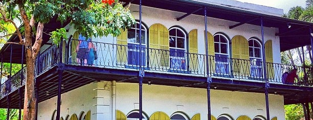 Ernest Hemingway Home & Museum is one of vacation hot spots.