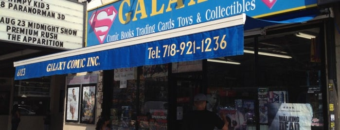 Galaxy Comics 2 is one of Brooklyn ToDo.