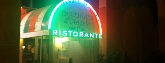 Trattoria Pizzeria d'Angelo is one of Paris.