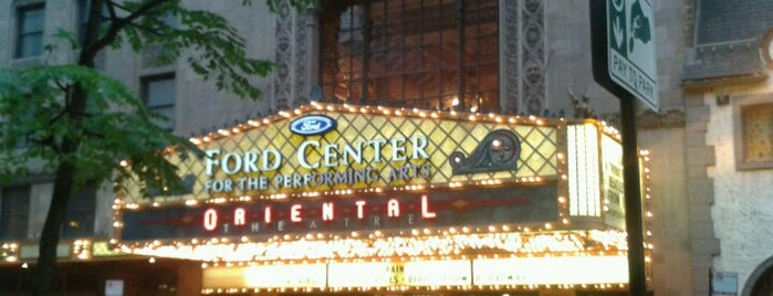 James M. Nederlander Theatre is one of Downtown Chicago Theatres.