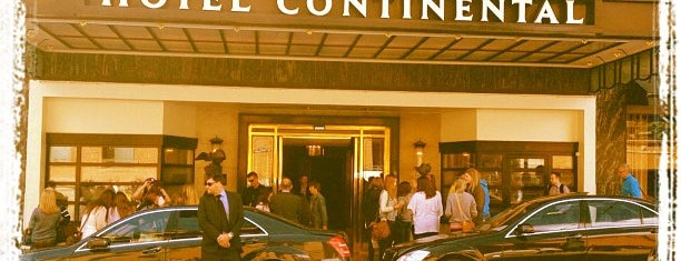 Hotel Continental is one of Locais curtidos por Matthew.