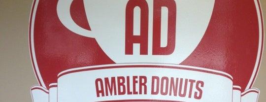 Ambler Donuts is one of Lugares favoritos de Christopher.
